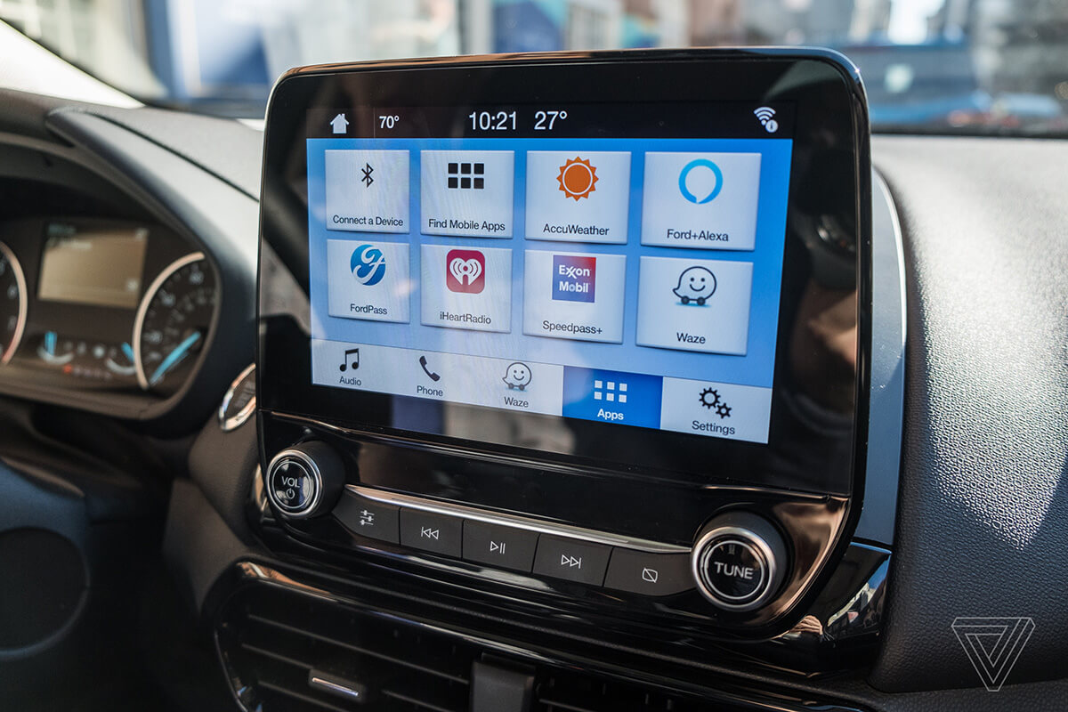 ford ecosport 2018 to have sync 3 infotainment with waze. Black Bedroom Furniture Sets. Home Design Ideas