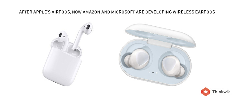 After Apple S Airpods Now Amazon And Microsoft Are Developing