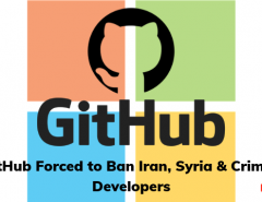GitHub Forced to Ban Iran, Syria & Crimea Developers- thinkwik
