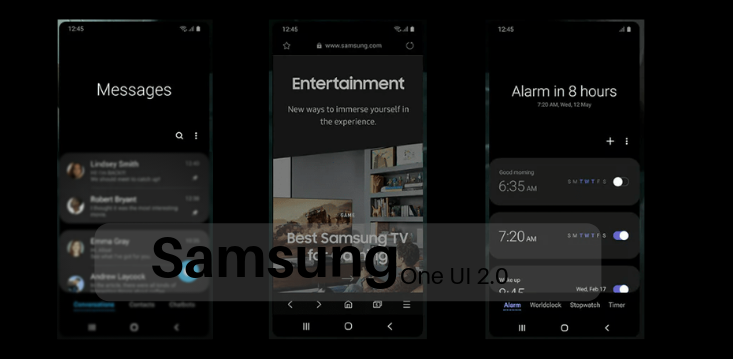 Samsung to Rollout One UI 2.0 Along With Android Q Update - Release date and Specifications