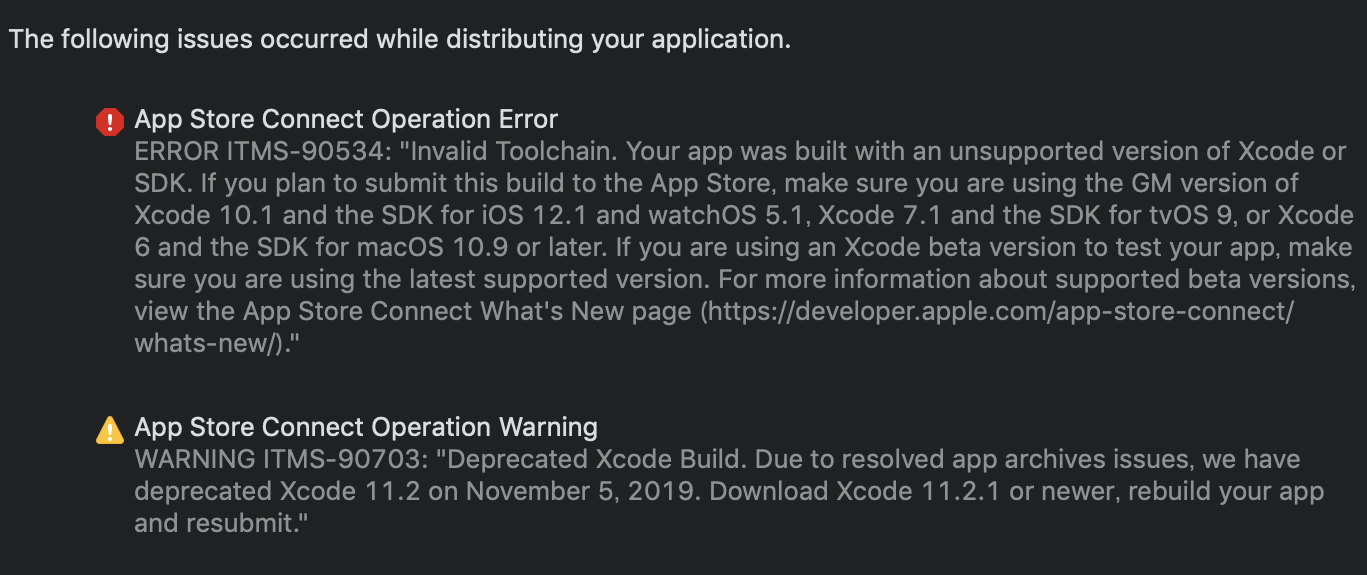 xcode-11.2-SwiftUI Support Problem